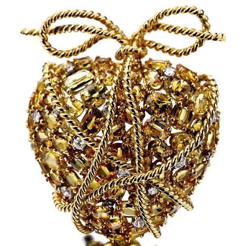 Pendant-brooch Heart