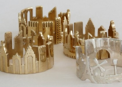 Jewellery architecture by Ola Shekhtman