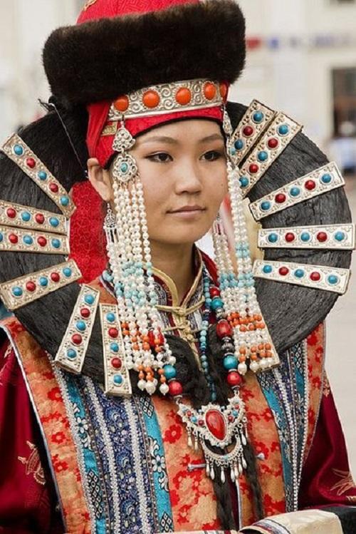 Ethnic Mongolian Jewellery Kaleidoscope Effect