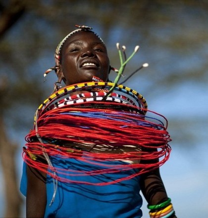 Kenyan passion for beaded jewelry