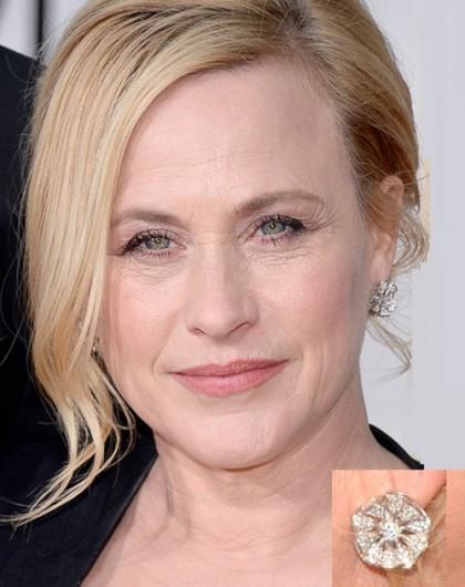2016 Golden Globe Awards jewellery