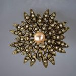 Signed Lee Co vintage costume jewelry