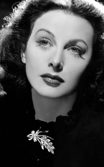 Inventor and actress Hedy Lamarr