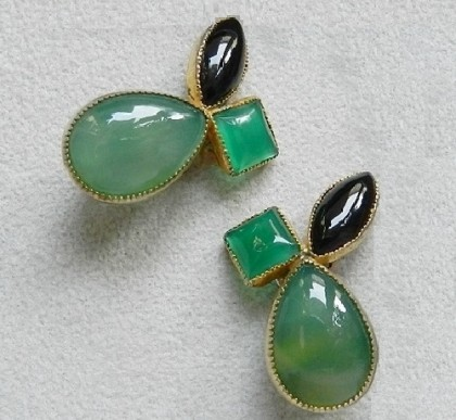 Claire Deve vintage costume jewelry