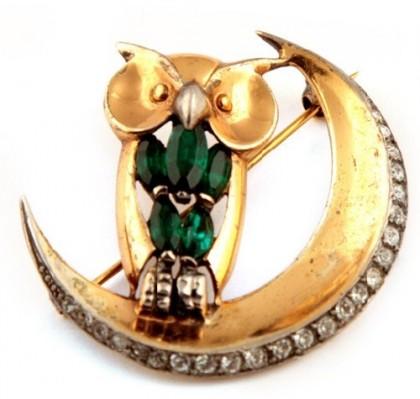 Owl symbolic jewellery