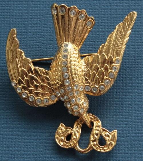 Dove of Peace, 1980s marked Berebi