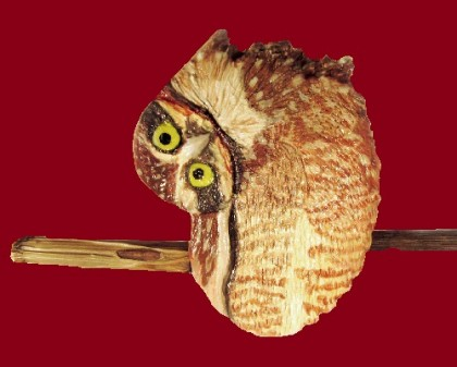 urprised Owl. Jeweler Alisa Knizhnik