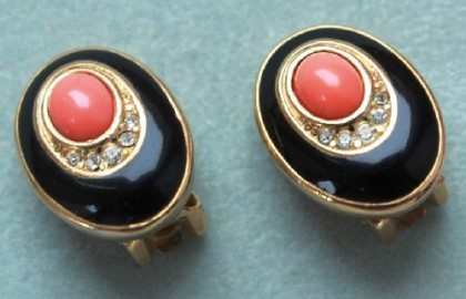 Clips. Christian Dior jewellery