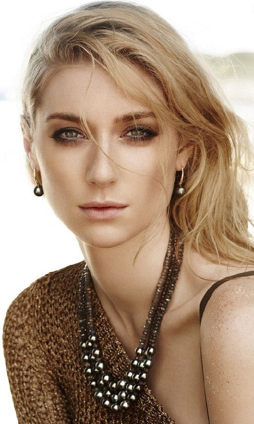 Australian Actress Elizabeth Debicki Kaleidoscope Effect