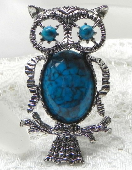 Gerry's creation brooch Owl