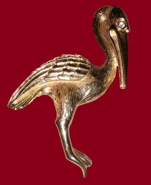 Gerry's brooch Pelican