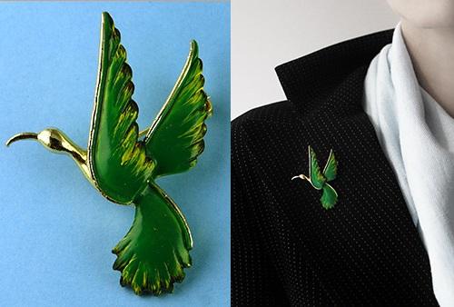 Bird Gerry's vintage brooch