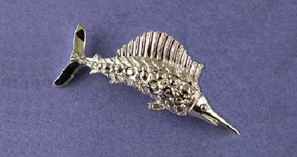 Fish Gerry's vintage brooch