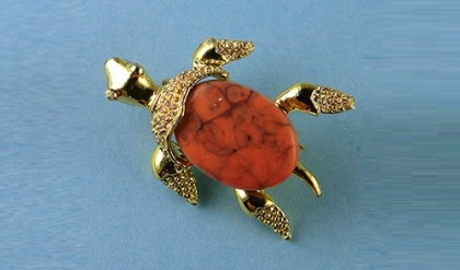 Turtle. vintage brooch