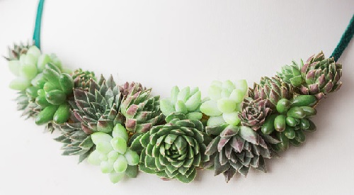 Wonderful Succulent necklace