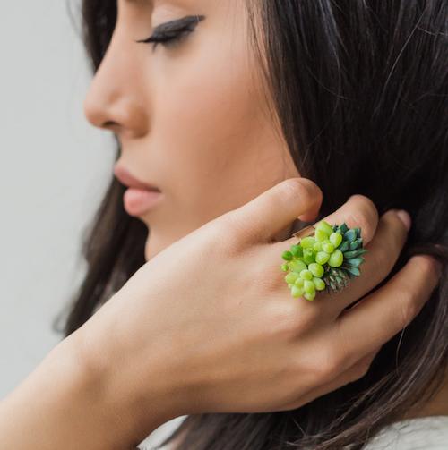 Amazing Succulent ring