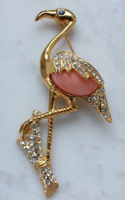 Flamingo inspired jewellery