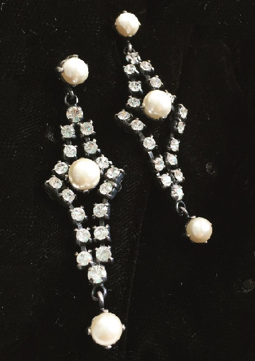 Vintage earrings by Christian Dior