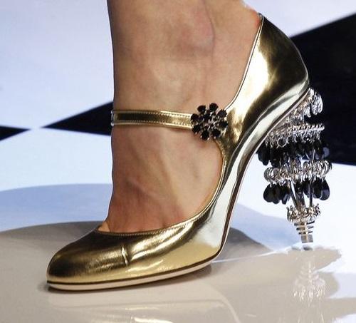 Fairy-tale inspired heels