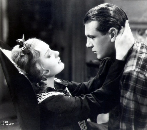 Gary Cooper and Anna Sten in The Wedding Night, 1935