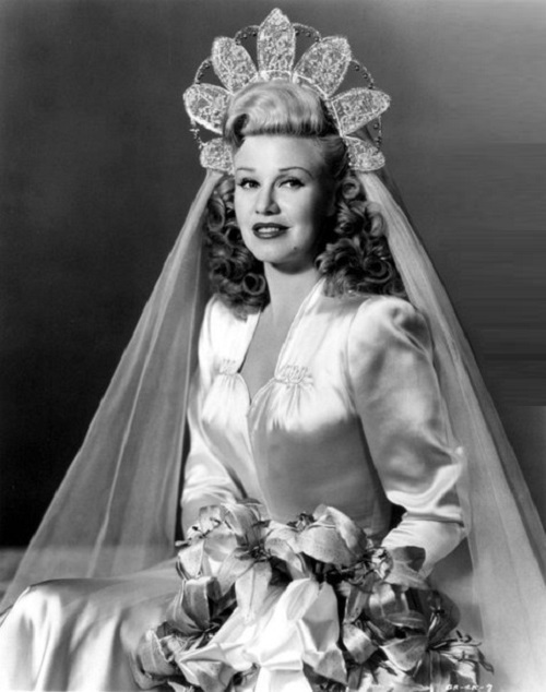 Vintage actress and Jewellery lover Ginger Rogers