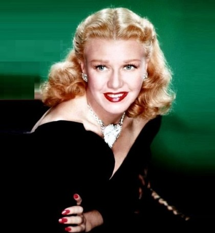 Stunning beauty. Jewellery lover Ginger Rogers