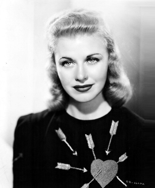 Hollywood actress and Jewellery lover Ginger Rogers