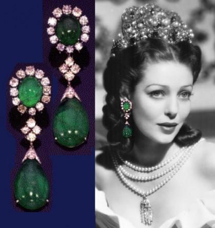 Loretta Young jewellery