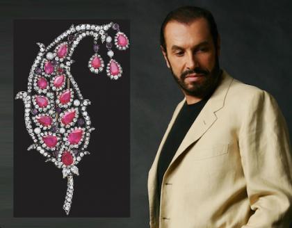 Italian jewelry designer Michele della Valle