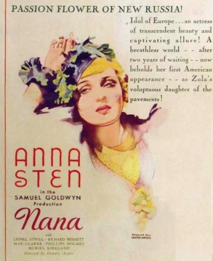 Jewellery lover Anna Sten
