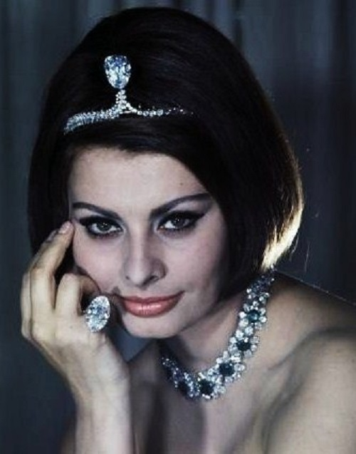 She is a truly jewellery lover
