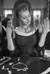 Jewellery lover Sophia Loren