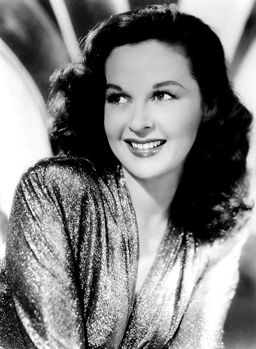 Movie star of 1950s Susan Hayward
