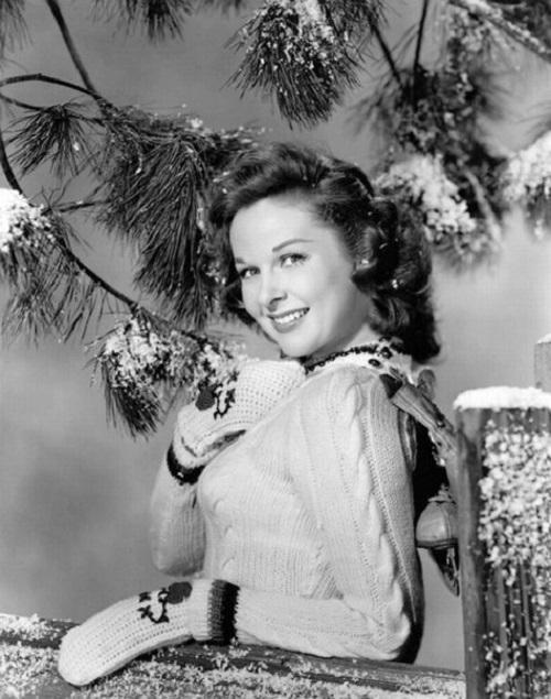 Christmas card – Susan Hayward