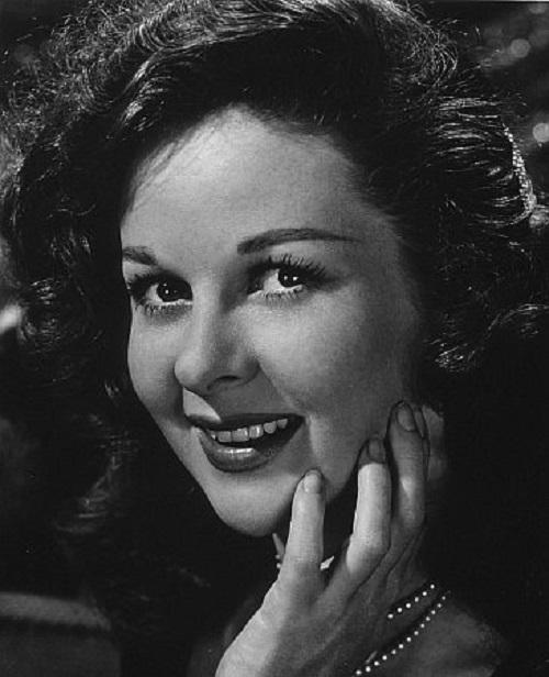 Vintage actress Susan Hayward