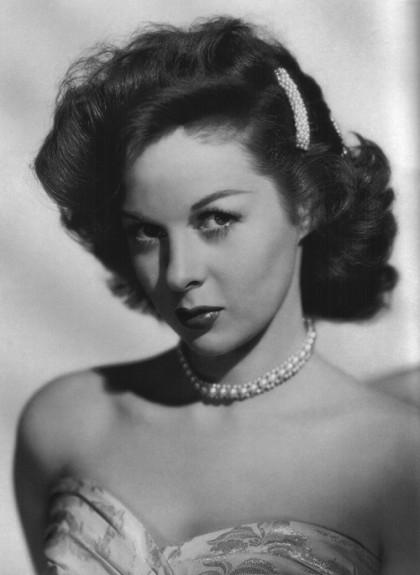 Glamorous actressSusan Hayward