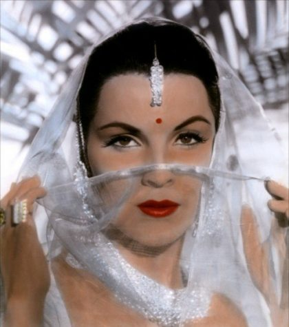 She was a truly love of jewellery. Debra Paget