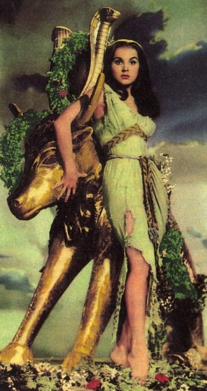 1956 movie The Ten commandments. Debra Paget as Lilia