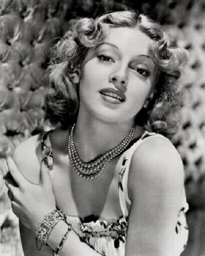 Glamorous Hollywood diva Lana Turner