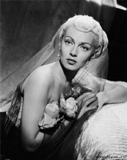 Movie star of 1940-1950s Lana Turner