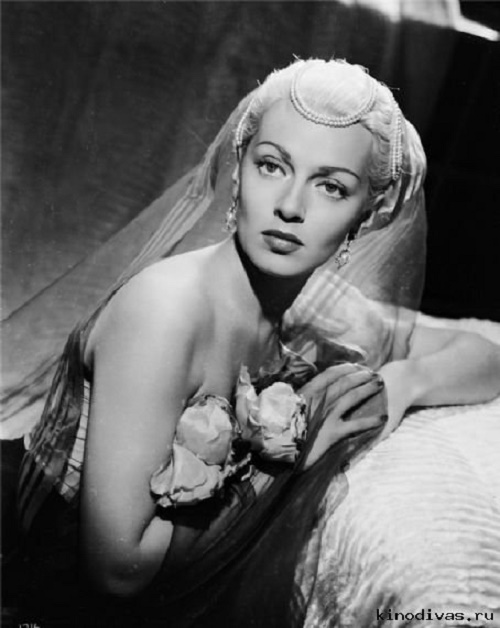 Movie star of 1940-1950s Lana Turner