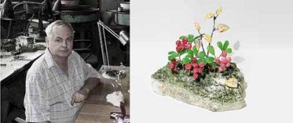 Stone flower master Viktor Vasiliev