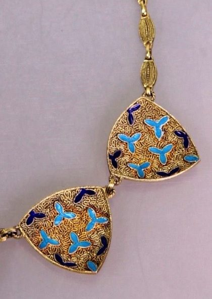 Necklace, closeup