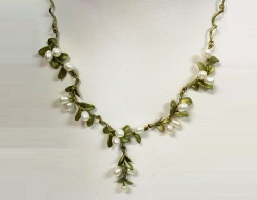 Buxus necklace