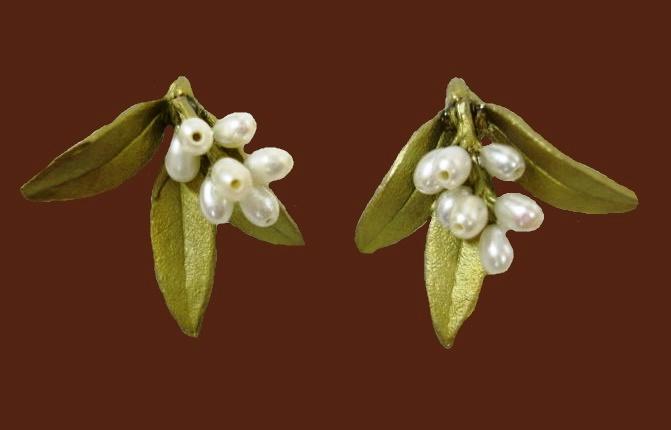 Myrtus in bloom earrings