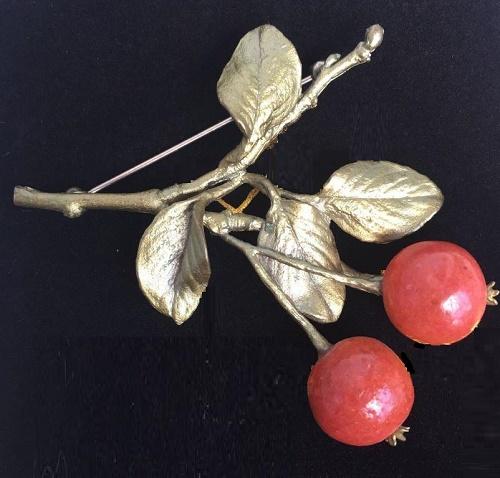 Michael Michaud nature inspired jewellery