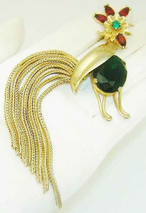 Napier Rooster brooch