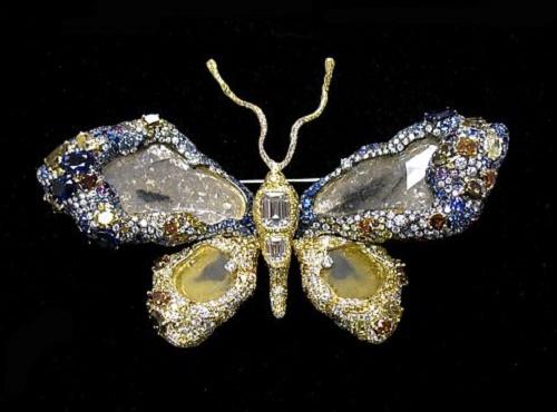 Precious Butterfly brooch