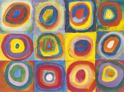 1913 painting by Kandinsky Circles