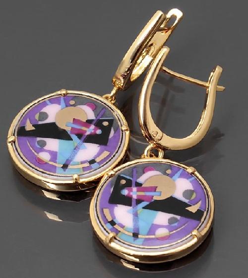 Abstraccion earrings